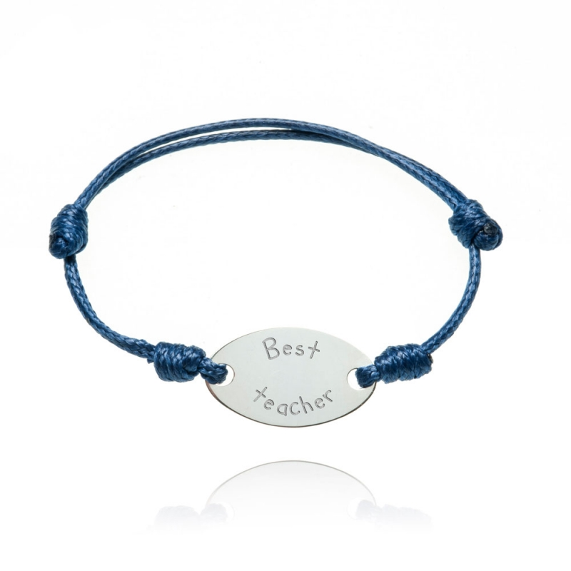 Pulsera 'Best teacher'