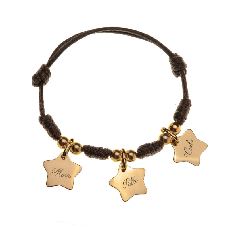 Pulsera Heavenly bañada en oro
