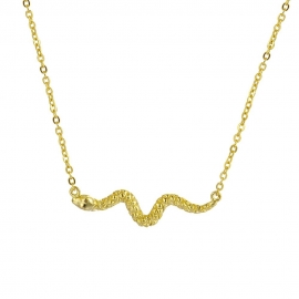 Collar Serpiente Oro